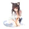 猫娘 ミア illustrated by こーやふ